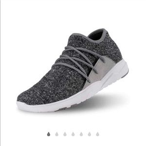 Vessi Grey Cityscape Runners (size 8)